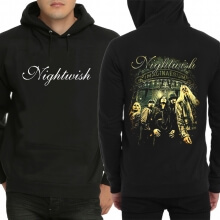 Cool Nightwish Band Hoodie Black Pullover Sweatshirt