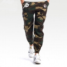 Cool Overwatch Soldier 76 Pants OW Hero Camouflage Casual Sweatpants