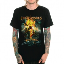 Cool Stratovarius Band Rock T-Shirt for Youth'