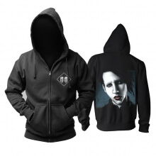 Cool Us Marilyn Manson Hoodie Metal Rock Band Sweat Shirt