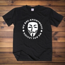 Cool V for Vendetta Mask Tshirt