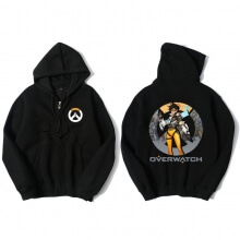 Cool Zipper Overwatch Hoodie Tracer Merch Gifts For Men