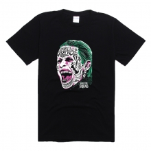 Crazy Joker Head T-shirt For Men