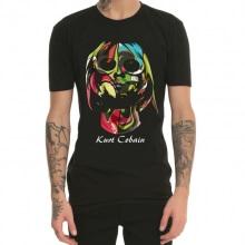 Creative Kurt Cobain Grunge Rock T Shirt