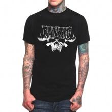 Danzig Band Rock T-Shirt Black Heavy Metal Tee