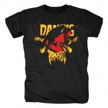 Danzig T-Shirt Us Black Metal Punk Tshirts
