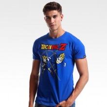 DBZ Android T-shirt Quality Dragon Ball Z Character Tee Blue XXXL
