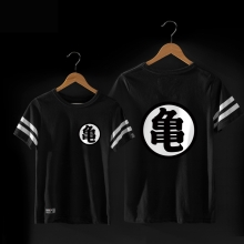 DBZ Kame Sennin Black Tshirt For Mens