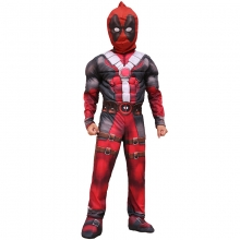 Deadpool Muscle Cosplay For Kids Movie Cosplay Costume For Party Halloween