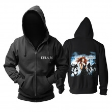 Delain April Rain Hoodie Metal Music Sweat Shirt