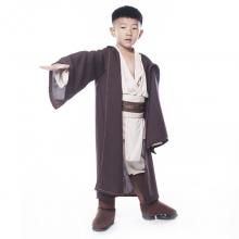 Deluxe Jedi Warrior Costumes Kids Fancy Halloween Purim Carnival Costumes Boys