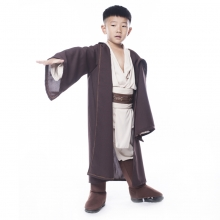 Deluxe Jedi Warrior Costumes Kids Fancy Halloween Purim Carnival Costumes Boys