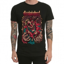 Diminished Band Rock T-Shirt Black Heavy Metal