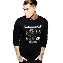 Discharge Long Sleeve T-Shirt Rock Music Heavy Metal