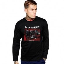 Discharge Rock Band T-Shirt Long Sleeve