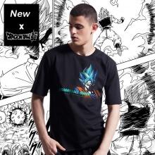 Dragon Ball Super Son Goku T-shirt Black Loose XXXL Couple Tshirt
