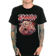 Exodus Metallic Rock Print T-Shirt