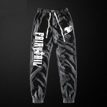 Fairy Tail Pants Dark Gray Comfortable Sweatpants