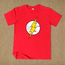 The Flash Movie Superhero T Shirt For Summer