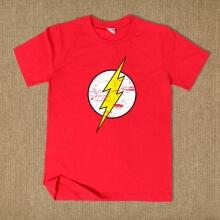 The Flash Movie Superhero T Shirt For Summer