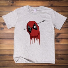 Funny Deadpool Tshirt Marvel Hero Tee