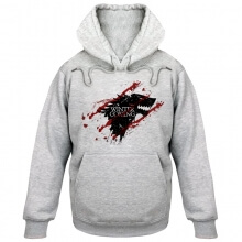 Game of Thrones Hoody House Stark Bloody Wolf Hoodie