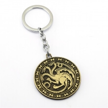 Game of Thrones House Targaryen Key Chain