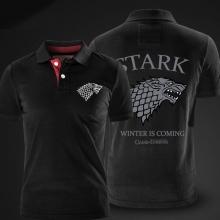 Game of Thrones Polo Shirt House Stark direwolf Polo