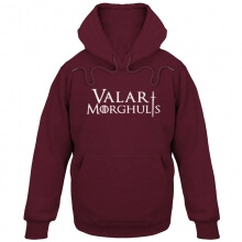 Game of Thrones Valar Morghulis Hoodie