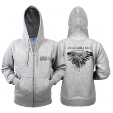 Game of Thrones Zip Sweater All Men Must Die Hoodie