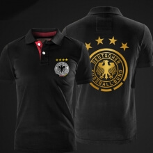 German national team Logo Polo Deutschland Fussball Bund Polo Shirts