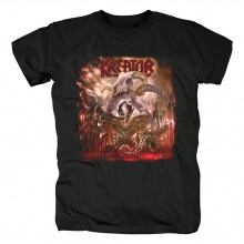 Germany Kreator Gods Of Violence T-Shirt Metal Graphic Tees
