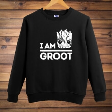 Guardians Of The Galaxy 2 Groot Crew Neck Hoodie