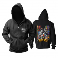 Guns N'Roses Hoodie Punk Rock Band Sweat Shirt