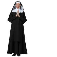 Halloween Easter Priest Jesus Maria Cosplay Costumes for Women