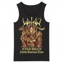 Hard Rock Black Metal Rock Sleeveless Graphic Tees Watain Tank Tops