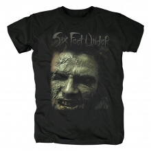 Hard Rock Graphic Tees Personalised Six Feet Under Band T-Shirt