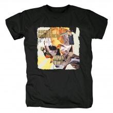 Hard Rock Metal Graphic Tees Ugust Burns Red Band T-Shirt