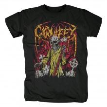 Hard Rock Skull Graphic Tees Carnifex T-Shirt