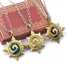 Hearthstone Logo Necklace Pendant