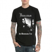 Heavy Metal Burzum Black Cotton Tee Shirt