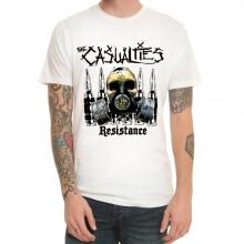 Heavy Metal The Casualties Band Rock Tshirt