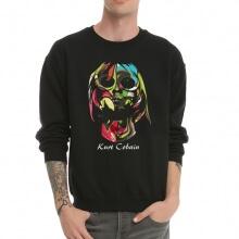 Heavy Metal Kurt Cobain Crew Neck Sweatshirt