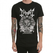 Heavy Metal Mayhem Band T-shirt for Men