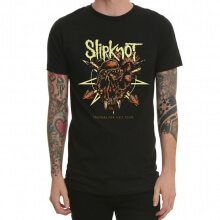 Heavy Metal Sliprock Print T-Shirt Black