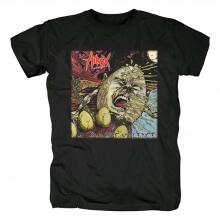 Hirax Raging Violence T-Shirt Metal Graphic Tees