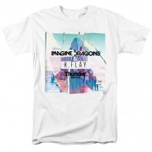 Imagine Dragons Thunder Tshirts Us Rock Band T-Shirt