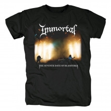 Immortal The Seventh Date Of Blashyrkh Tees Norway Black Metal T-Shirt