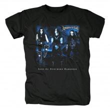 Immortal Sons Of Norhern Darkness Tee Shirts Norway Black Metal T-Shirt