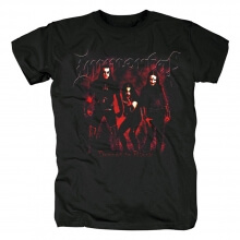 Immortal T-Shirt Norway Black Metal Punk Rock Tshirts